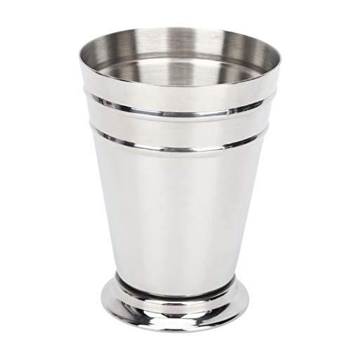Taza de cóctel, copa de cerveza, copa de vino, copa de cóctel, copa de vino al aire libre para fiesta en casa para bar (plata)