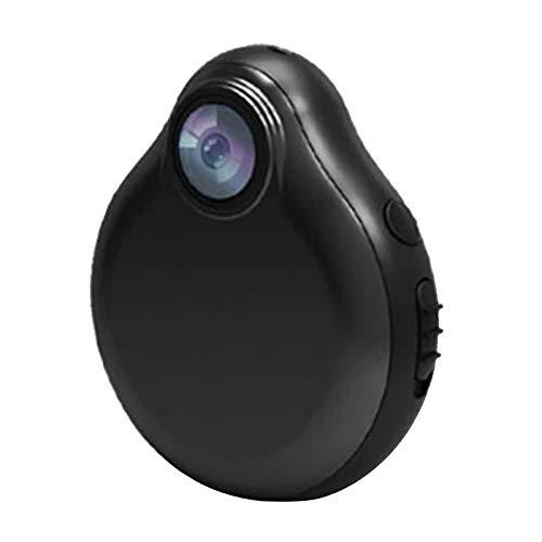 Gazechimp HD WiFi Micro Cámara Sensor de Movimiento de Niñera Más Pequeño Negro