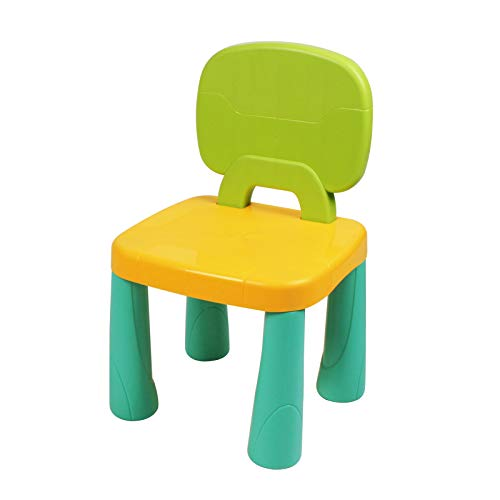 KIDCHEER Plastic Toddler Chair Durable and Lightweight 8.66' Height Seat Indoor Outdoor Use for Boys Girls for Kids