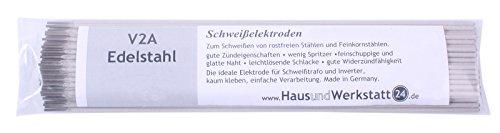 Edelstahl - Schweißelektroden V2A 1,6mm 0,5kg ca 79 Stück rutilumhüllt Edelstahlelektroden 308L