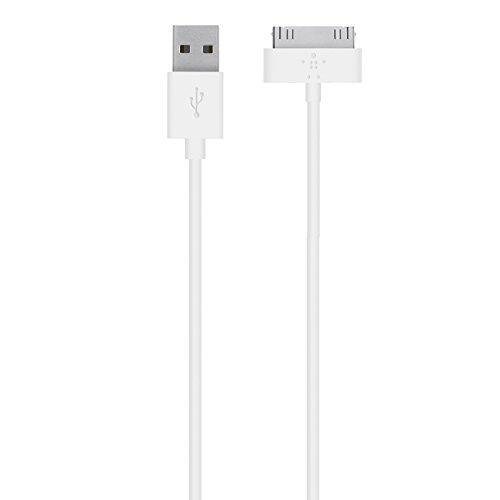 Belkin 30-Pin Lade/Sync-Kabel geeignet für iPhone 4/4s, iPad 2 Weiß