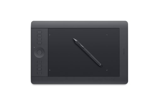 Wacom Intuos Pro Pen and Touch Tablet, Medium (PTH651) OLD MODEL