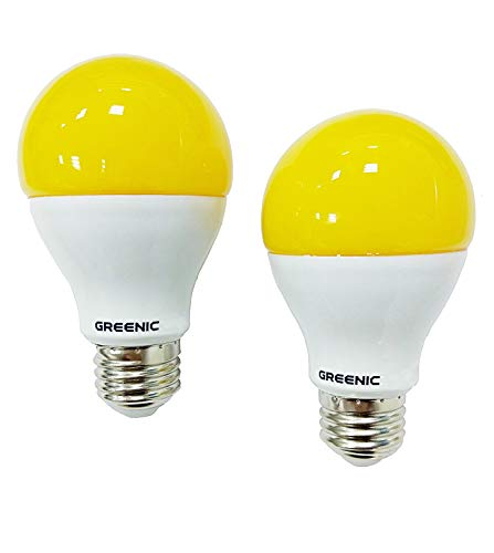 Sostituzione Greenic Yellow Bug lampadina LED 9 W (60 W), repellente per zanzare luce per interni...