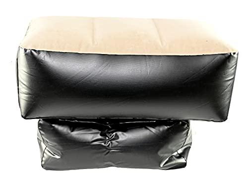 홈 X 풍선 백 좌석 갭 필러 차량용 뒷좌석을위한 작은 풍선 쿠션 애완 동물 용 자동차 침대 블랙 | 베이지