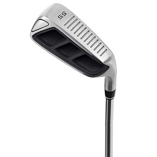 MAZEL Golf Pitching & Chipper Wedge,Right Handed,35,45,55 Degree Available for Men & Women (Right,...