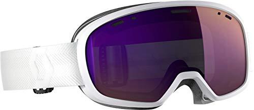 Scott - Masque De Ski/Snow Muse Pro White Enhancer Purple Chrome - Femme - Taille Unique - Blanc