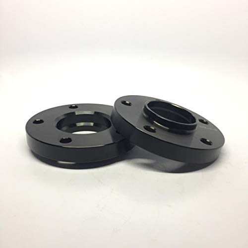 "Customadeonly 2 Pieces 1"" 25mm Black Hub Centric Wheel Spacers Bolt Pattern 5x120 Center Bore 72.6 for BMW E36 E46 E60 E90 E92 E82 E88"