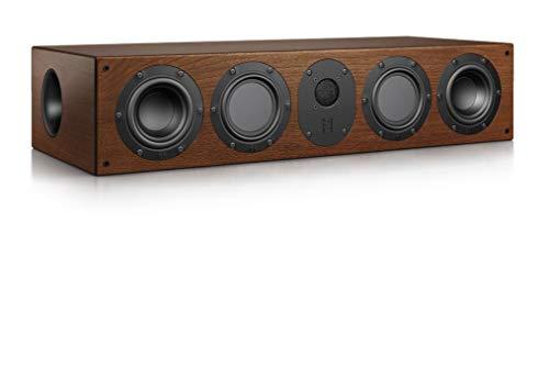 Nubert nuLine CS-174 Centerlautsprecher | Lautsprecher für Heimkino & Musikgenuss | Stimmen auf hohem Niveau | Passive Centerbox mit 3 Wege Technik Made in Germany | Kompaktlautsprecher Nussbaum