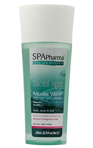 SPApharma Facial Spa Micellar Water enriched with Dead Sea Minerals 8.7 fl. Oz. Hawaii