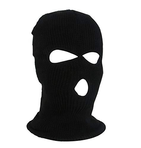 JialongDianzi - Máscara de invierno para exteriores, cálida, deportiva, transpirable, multifuncional, pasamontañas para adultos, tamaño elástico universal