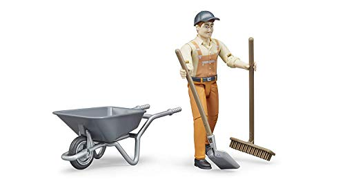 Bruder 62130 - Figurenset Kommunalarbeiter mit Zubehör
