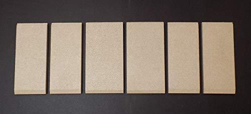 Feuerraumauskleidung für Heta Scan-Line Ancona Kaminöfen - Vermiculite - 6-teilig