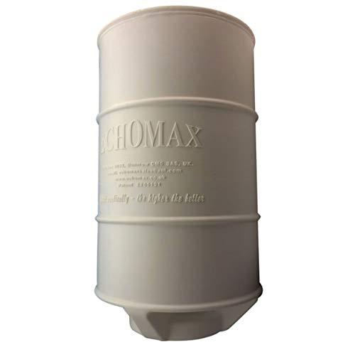 Echomax Midi - Radar para Barcos (9' (22,86 cm)), Color Blanco Roto