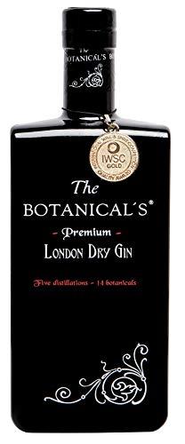 Gin The Botanicals - Ginebra - Botella 70 cl