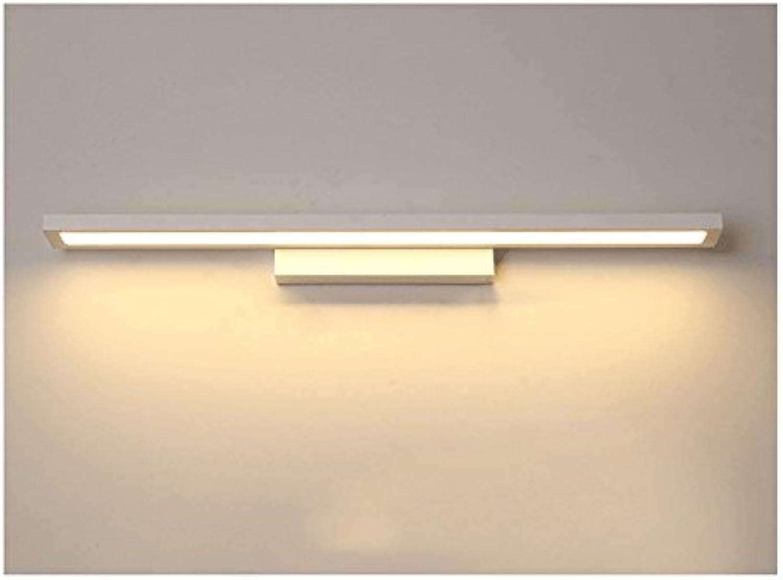 LED, Spiegel Licht, wasserdicht Spiegel Licht, Anti-Fog-Spiegel Kabinett Licht, Schmiedeeisen Acryl Bad Licht (Größe   8W 38cm)