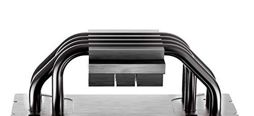 Cooler Master Hyper 212 Black Edition - Leise, schlank und präzise, 4 Heatpipes mit Lamellen, Silencio FP120-Lüfter