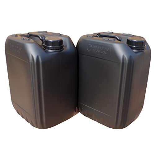 2 x 10 litre water carrier storage container stackable bpa free food water...