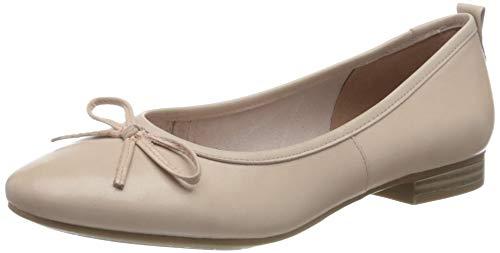 Tamaris Damen 1-1-22114-24 Geschlossene Ballerinas, Pink (Rose 521), 39 EU