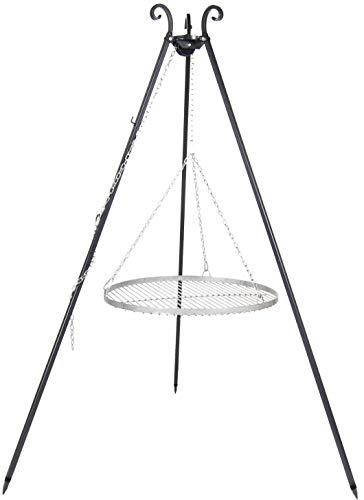 FARMCOOK Schwenkgrill VIKING Dreibein mit Grillrost aus Rohstahl in 4 Größen (Ø 70 cm)