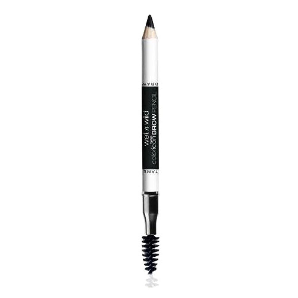 葡萄急襲オプション(3 Pack) WET N WILD Color Icon Brow Pencil - Black Ops (並行輸入品)