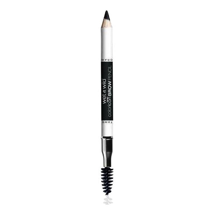 犠牲小売ベルト(3 Pack) WET N WILD Color Icon Brow Pencil - Black Ops (並行輸入品)