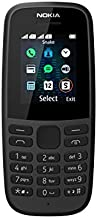 (Renewed) NOKIA 105 TA-1174 DS in Black