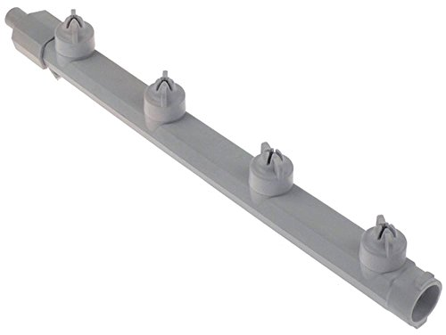 WINTERHALTER Brazo de lavado para lavavajillas, soporte de invierno GS24, 4 boquillas EP, longitud inferior de 335 mm, sistema de lavado II