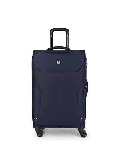 Gabol - Nordic   Maletas de Viaje Medianas de 42 x 70 x 28 cm con Capacidad para 65 L de Color Azul