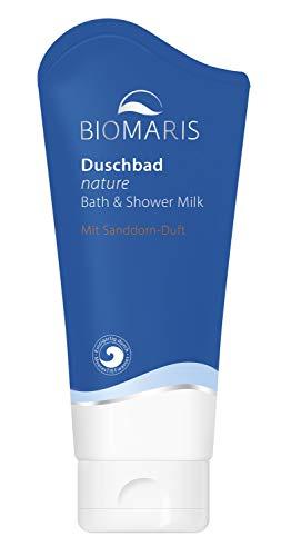 BIOMARIS Duschbad nature mit Sanddorn-Duft 200 ml