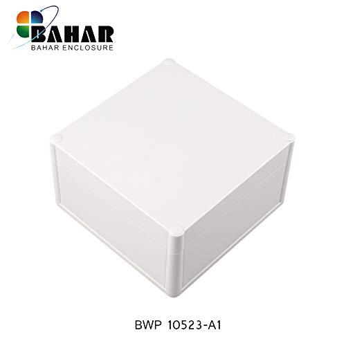 Bahar Enclosure Elektrische Kunstoffgehäuse Wasserdichte Anschlussdose Weiß Gehäuse Junction Box IP68 Waterproof Enclosure Kunststoffgehäuse (166 * 166 * 91 mm)
