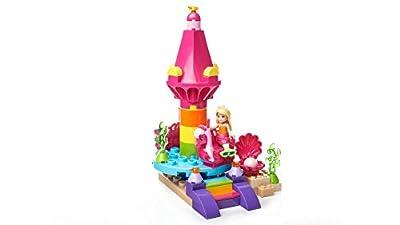 Mega Construx Barbie Dreamtopia Seahorse Carousel & Mermaid Chelsea Action Figure