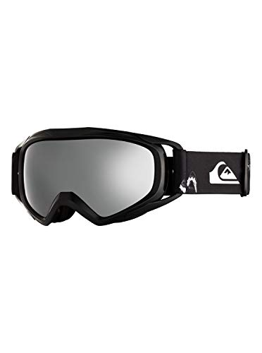 Quiksilver Jungen Eagle 2.0-Snowboard-/Skibrille 8-14, Black Snow Party, 1SZ