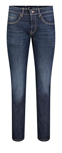 MAC Jeans Herren Arne Pipe Jeans, Dark Blue Authentic Used 3D Baffies, 31/30