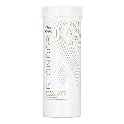 Wella Blondor Freelights weißes Blondierpulver, 400 g, 1er Pack, (1x 0,4 kg)