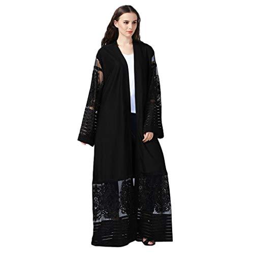 Tendance Abaya Ouverte Femme Cardigan POPLY Abaya Femme Musulmane 2019 Abaya Dubai Moderne Mode Robe Islamique Femme Cool Kaftan Femme Marocain Takchita Caftan Femme Oriental Robe Muslim Femme