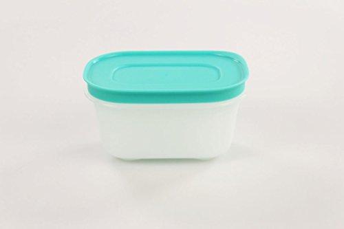 TUPPERWARE Eiskristall Gefrier-Behälter 170 ml weiß minze Eis-Kristall Dose