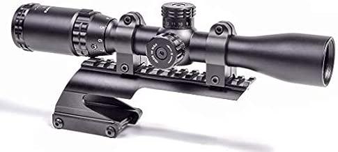 Hammers Slug Shotgun Scope Kit 2-7x32 with Rings and Saddle Mount for 12GA 20 Gauge 870 1100 11-87
