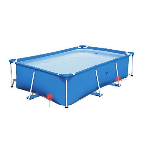 Lowest Price! JYY Frame Rectangular Swimming Pool,300x201x66cm (Size : 259x170x61cm)