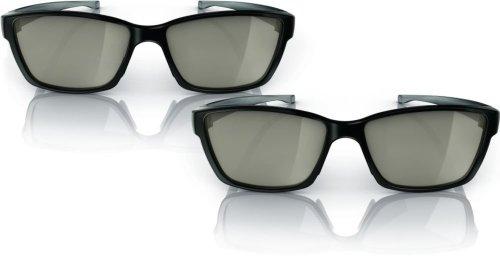 Philips PTA417/00 - Gafas 3D con puente para la nariz ajustable y...