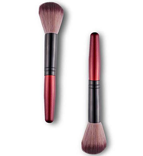 1 pinceau multifonction en bois pour poudre à ongles - Brosse de nettoyage de maquillage en gel acrylique - Brosse douce
