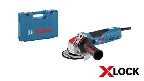 Bosch Professional Winkelschleifer GWX 17-125 S (1700 Watt, für X-LOCK Zubehör, ScheibenØ: 125 mm, im Koffer)