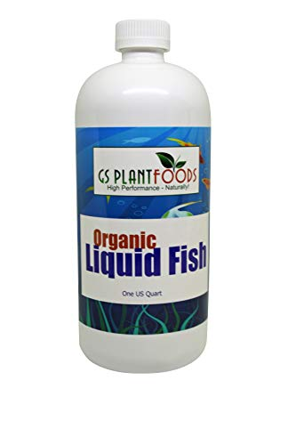 GS Plant Foods Organic Hydrolyzed Liquid Fish Fertilizer 32 oz