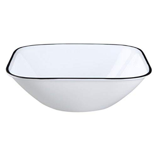 Corelle Square Simple Lines 22-Ounce Bowl Set (6-Piece)