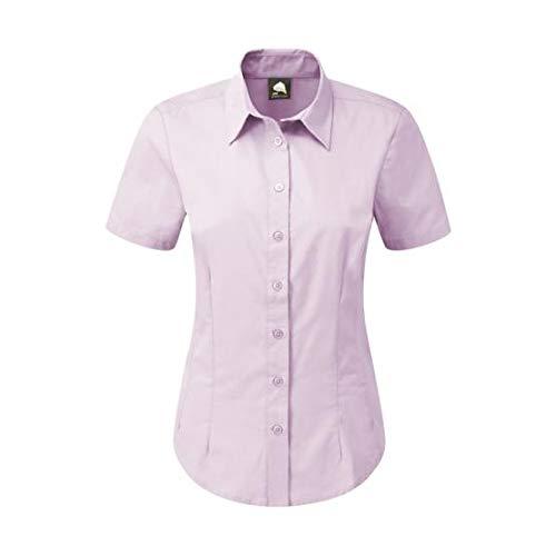 ORN Werkkleding 5450 De Essentiële S/Blouse, Lila, 30 Size