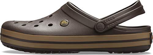 Crocs Unisex-Erwachsene Crocband Clogs, Braun