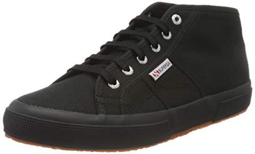 Superga Unisex-Erwachsene 2790-cotropew Sneaker, Schwarz (Full Black 996), 42.5 EU