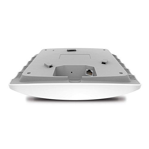TP-Link EAP245 AC1750 WLAN Access Point (Dualband 1750 Mbit/s mit MU-MIMO, professionelles Design für sehr große Reichweite, passend für Wand- und Deckenmontage, unterstützt 802.3af PoE) weiß