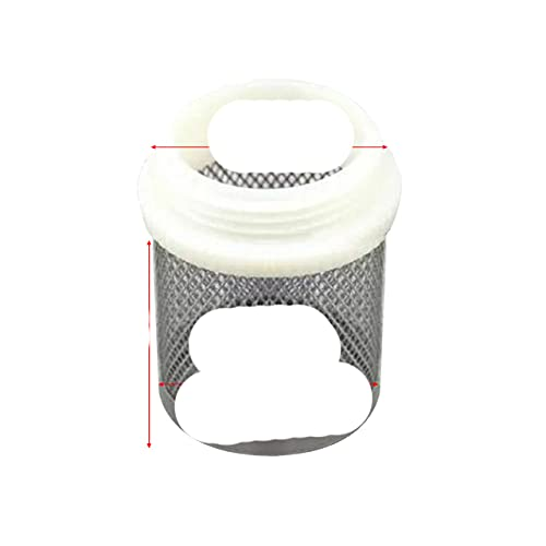 FSALFWUYIHDSF 1 Uds SS304 Filtro de Red Micro Bomba de Agua de riego para jardín Proteger el Filtro de Malla de Manguera Pantalla de Limpieza de Agua Filtros de Malla duraderos-1 Pulgada