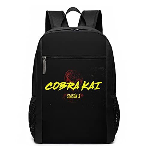 Cobra Kai - Mochila de viaje para ordenador portátil resistente al agua