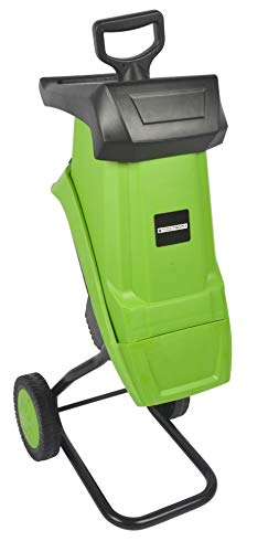 Tooltronix 2500W Electric Garden Shredder 50L Mulcher Waste Chipper Compost...